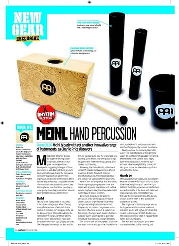 Rhythm Meinl Hand Percussion