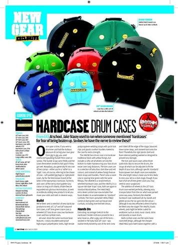 Rhythm HARD CASE DRUM CASES