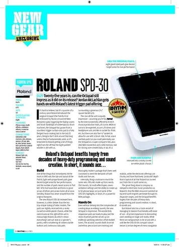 Roland SPD-30 Octapad – Thomann Elláda