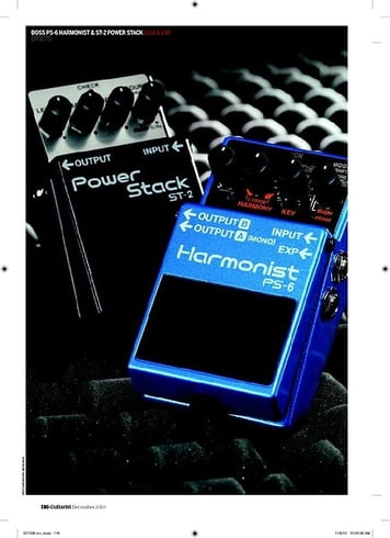 Guitarist BOSS PS-6 Harmonist