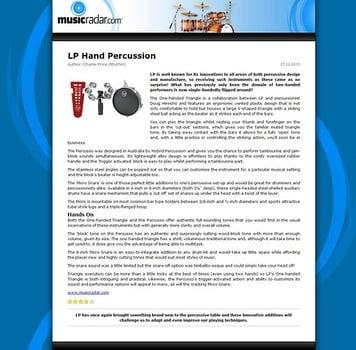 MusicRadar.com LP Hand Percussion