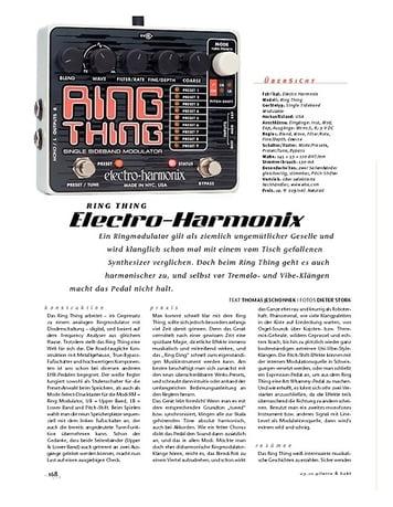 Gitarre & Bass Electro-Harmonix Ring Thing, FX-Gerät