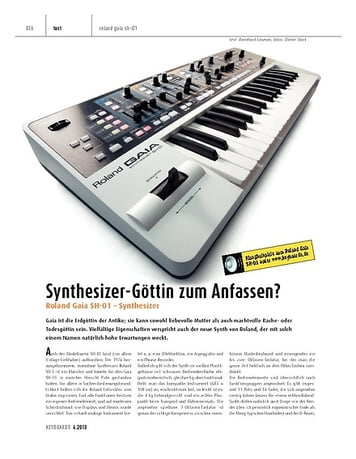 Keyboards Roland Gaia SH-01 - Synthesizer