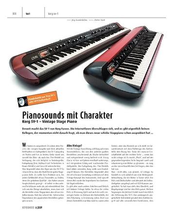 Keyboards Korg SV-1 - Stagepiano