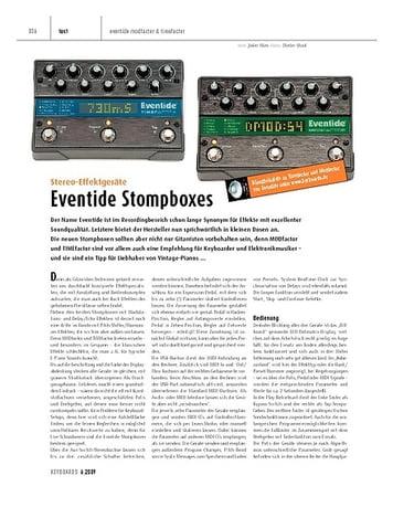 Keyboards Eventide TIMEfactor und MODfactor - Stereo-Effektgeräte