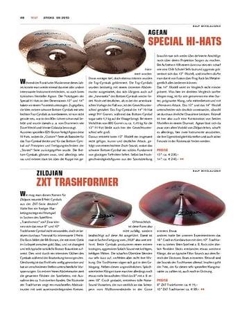 Sticks Zildjian ZXT Trashformer Cymbals