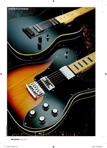 Guitarist Schecter PT