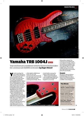 Guitarist Yamaha TRB 1004J