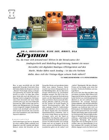 Gitarre & Bass Strymon Gitarren-Effektpedale