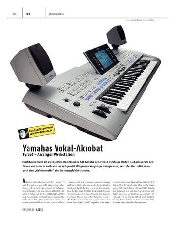 Keyboards Tyros4 - Arranger Workstation