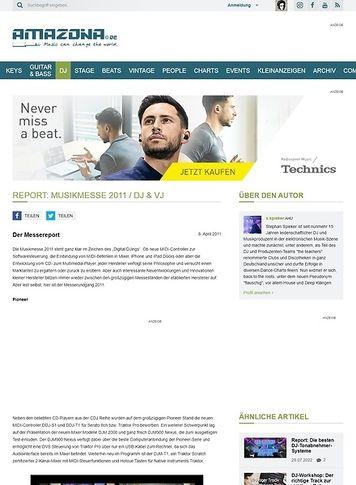 Amazona.de Report: Musikmesse 2011 / DJ & VJ