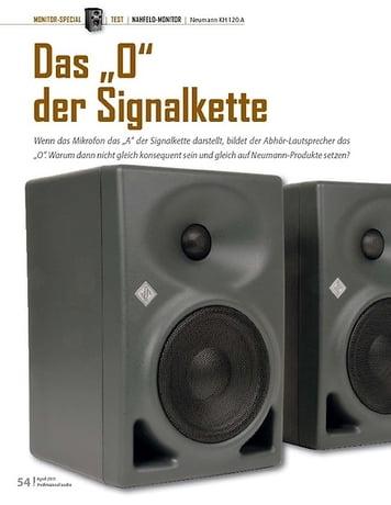 Professional Audio Neumann KH 120 A