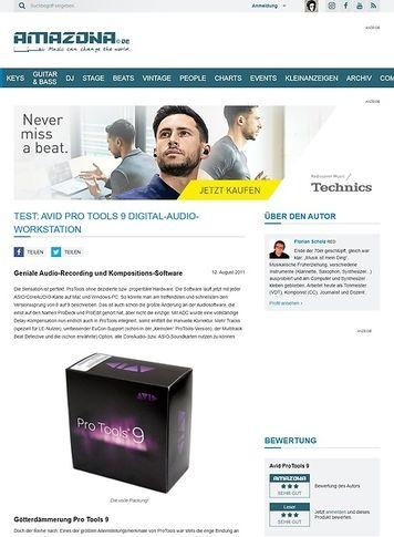 Amazona.de Special: Avid Pro Tools 9 / HD /LE