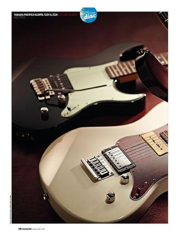 Guitarist Yamaha Pacifica 311H