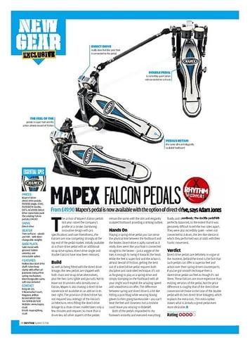 Rhythm MAPEX FALCON PEDALS