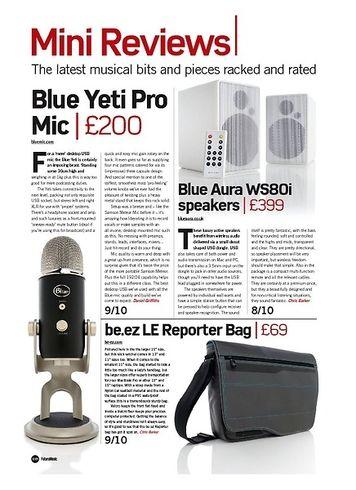 Future Music Blue Yeti Pro Mic