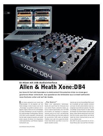 Sound & Recording Allen & Heath Xone:DB4