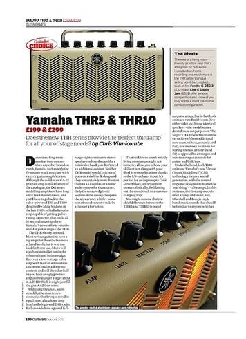 Guitarist Yamaha THR5