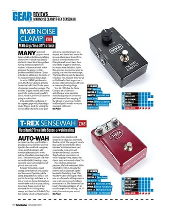 Total Guitar MXR NOISE CLAMP