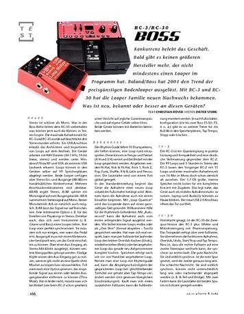 Gitarre & Bass Boss RC-3/RC-30, Looper