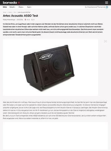 Bonedo.de Artec Acoustic A50D