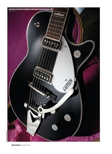 Guitarist Gretsch G6128T-GH George Harrison Signature Duo Jet