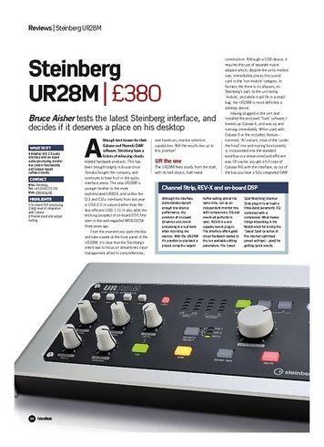 Future Music Steinberg UR28M