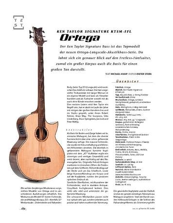 Gitarre & Bass Ortega Ken Taylor Signature KTSM-5FL, A-Bass