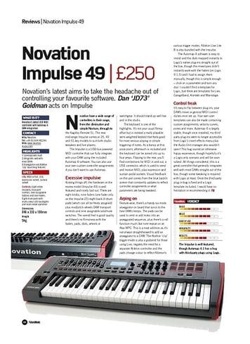 Novation Impulse 49 – Thomann UK