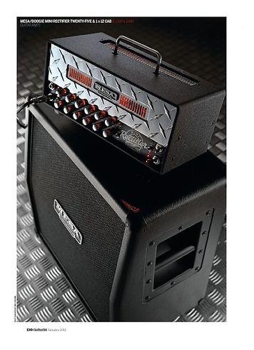 Guitarist Mesa/Boogie Mini Rectifier Twenty-Five and Mini Recto 1 x 12 cabinet