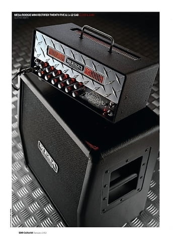 Guitarist Mesa/Boogie Mini Rectifier Twenty-Five and Mini Recto 1 x 12 cabinet