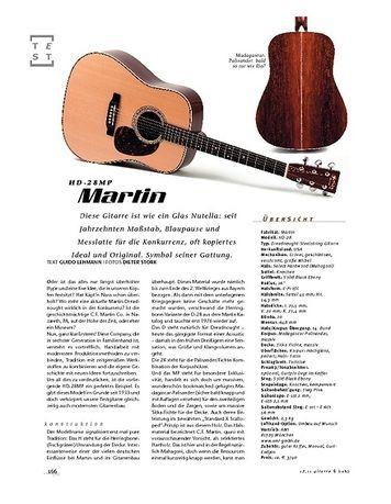 Gitarre & Bass Martin HD28