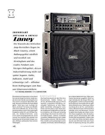 Gitarre & Bass Laney Ironheart IRT120H & IRT412, Gitarren-Stack