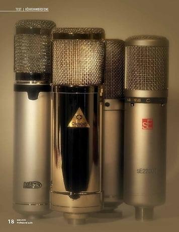 Professional Audio Klangphilosophen: Röhrenmikrofone