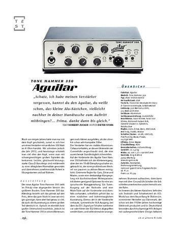 Gitarre & Bass Aguilar Tone Hammer 350, Bass-Top