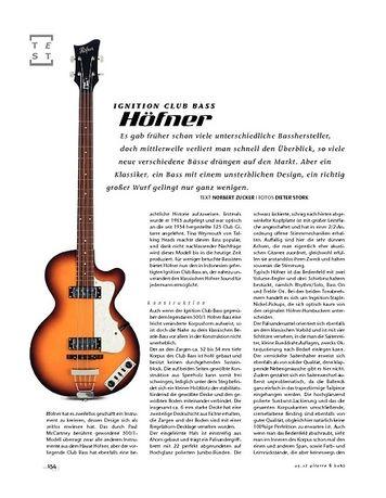 Gitarre & Bass Höfner Ignition Club Bass