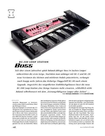 Gitarre & Bass Boss RC-300 Loop Station