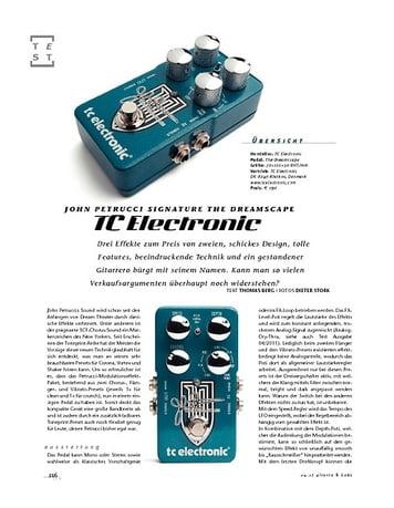 Gitarre & Bass TC John Petrucci Signature The Dreamscape, Signature-FX