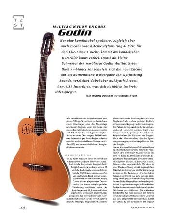 Gitarre & Bass Godin Multiac Nylon Encore