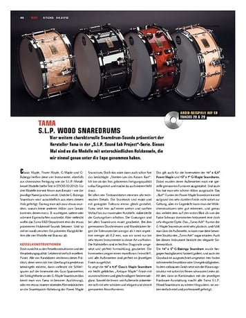 Sticks Tama SLP Sound Lab Project Snaredrums (2)