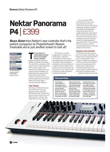 Future Music Nektar Panorama P4