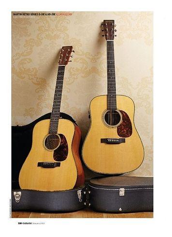 Guitarist Martin Retro Series HD-28E