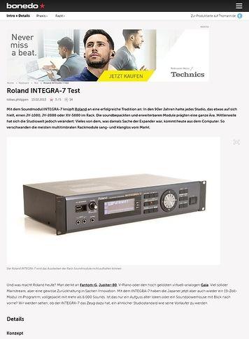 Roland Integra-7 – Musikhaus Thomann