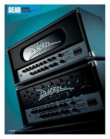 Total Guitar DIEZEL D-MOLL