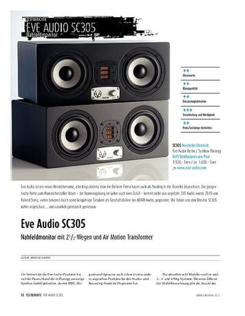 Sound & Recording EVE Audio SC305