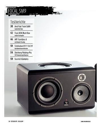 Sound & Recording Focal SM9