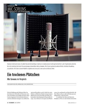 Sound & Recording Was leisten Mic-Screens? 7 Modelle im Vergleich