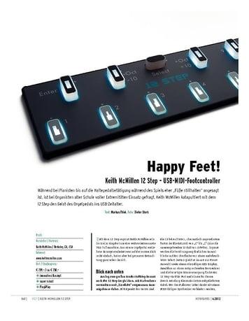 Keyboards Keith McMillen 12 Step – USB-MIDI-Footcontroller