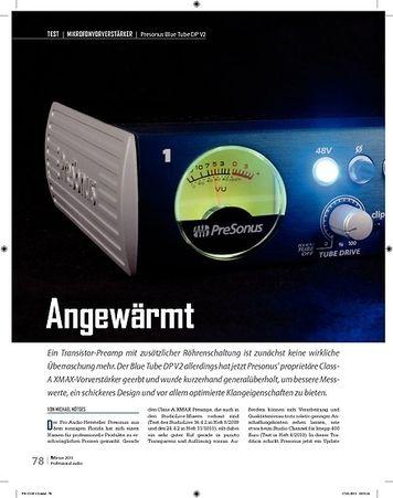 Professional Audio Presonus Blue Tube DP V2