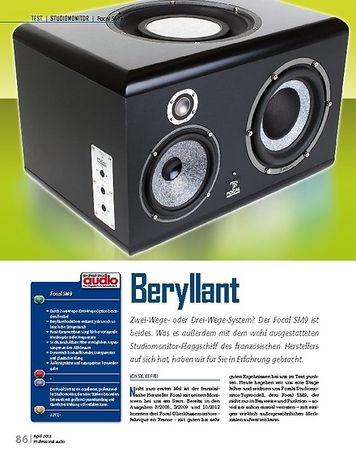 Professional Audio Focal SM9